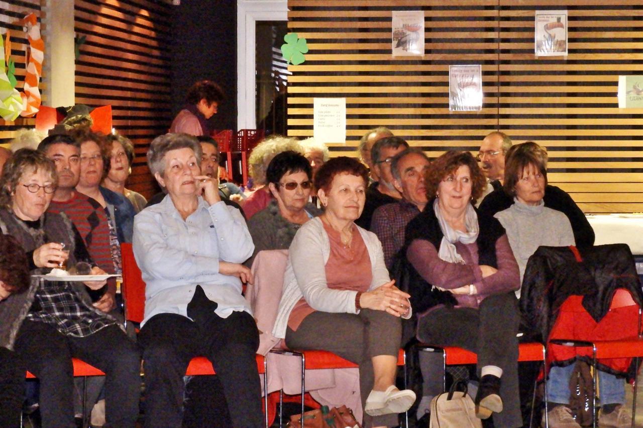 Spectateurs attentifs