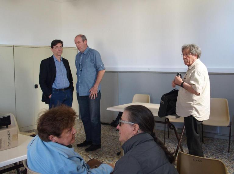 Christian Buchet, Denis Trioulaire et Robert Lagadeuc
