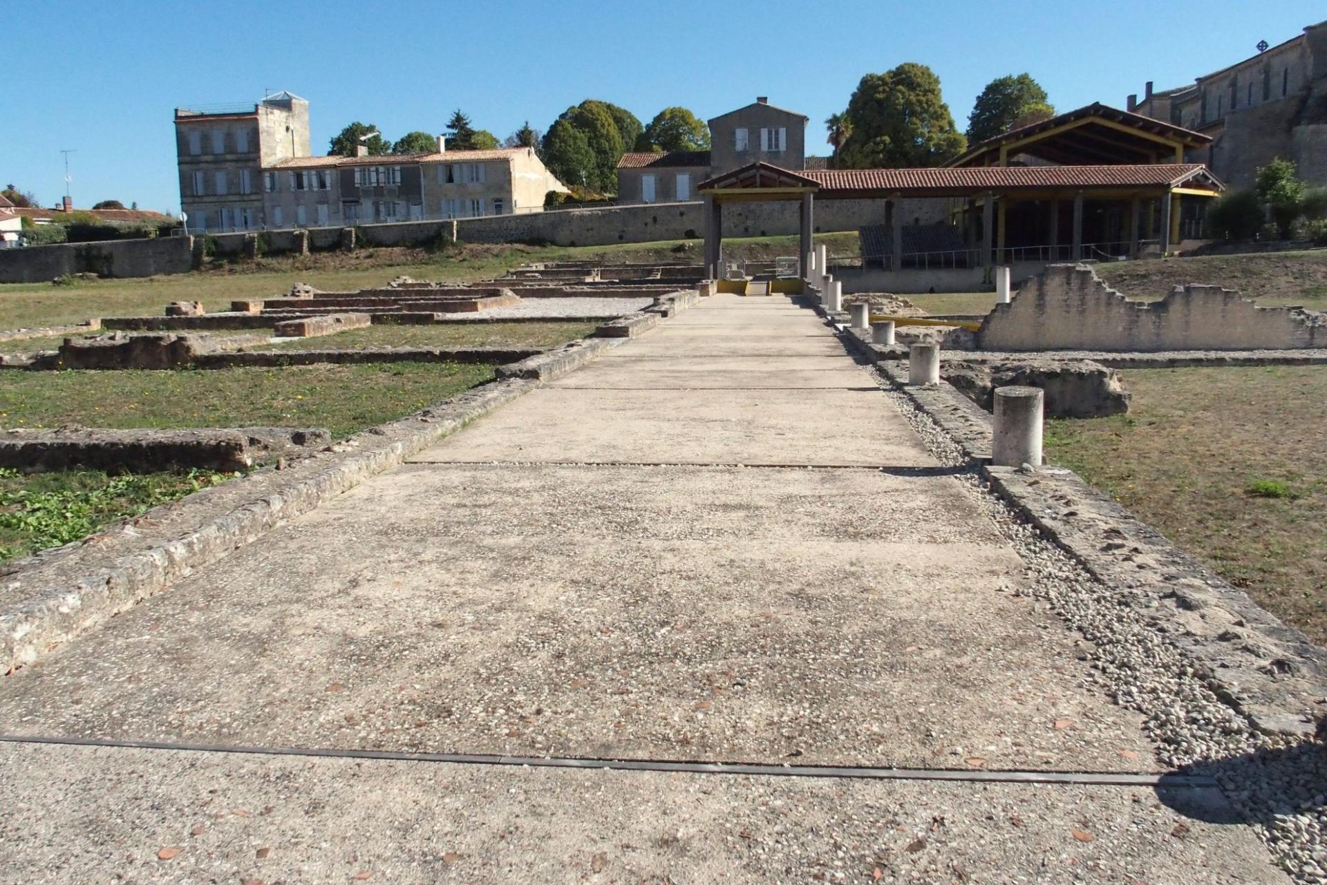 villa romaine à Plassac