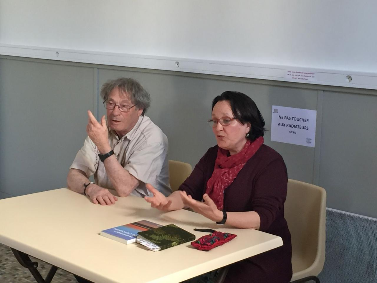 Chantal Detcherry et Robert Lagadeuc