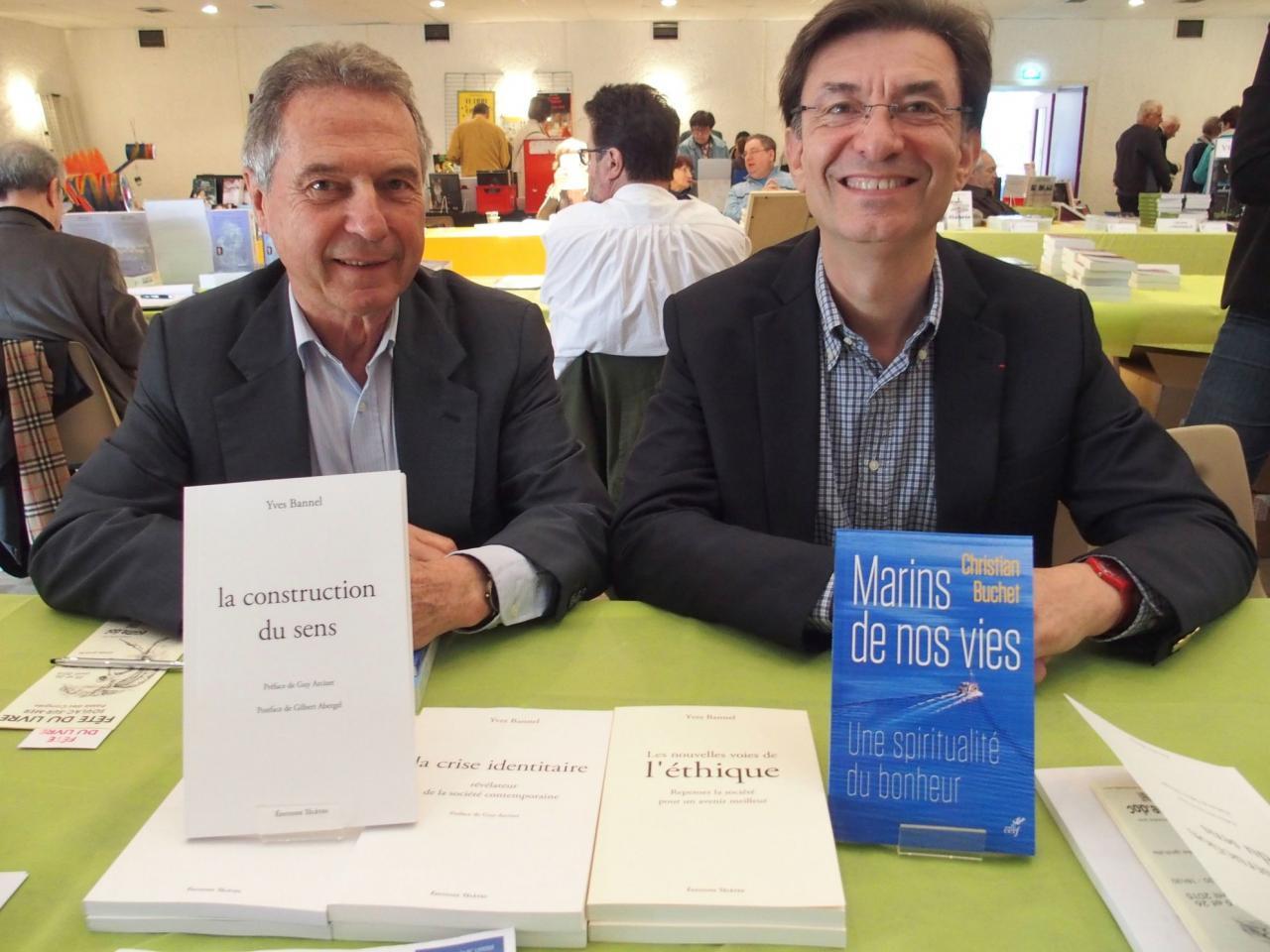 Yves Bannel et Christian Buchet